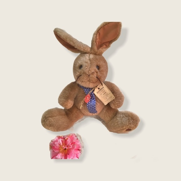Limited Edition Vintage 90s Cuddly Easter Bunny